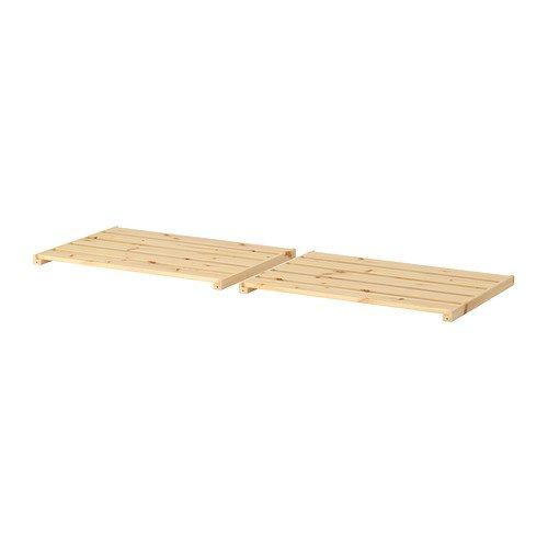 Ikea HEJNE Regalböden aus massivem Nadelholz; (77x47cm); 2 Stück