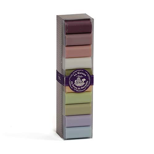 10 Verschiedene Provence Gäste-Seife Sheabutter 30g Geschenkbox