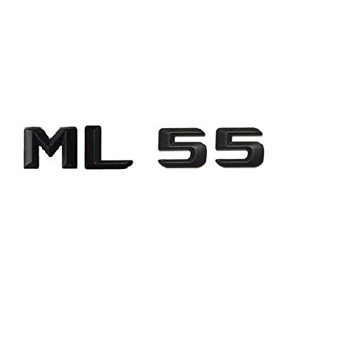 OceanAutos Für Mercedes Benz ML Klasse ML55 AMG, ML 55' Kofferraum Heckbuchstaben Wörter Nummer Abzeichen Emblem...