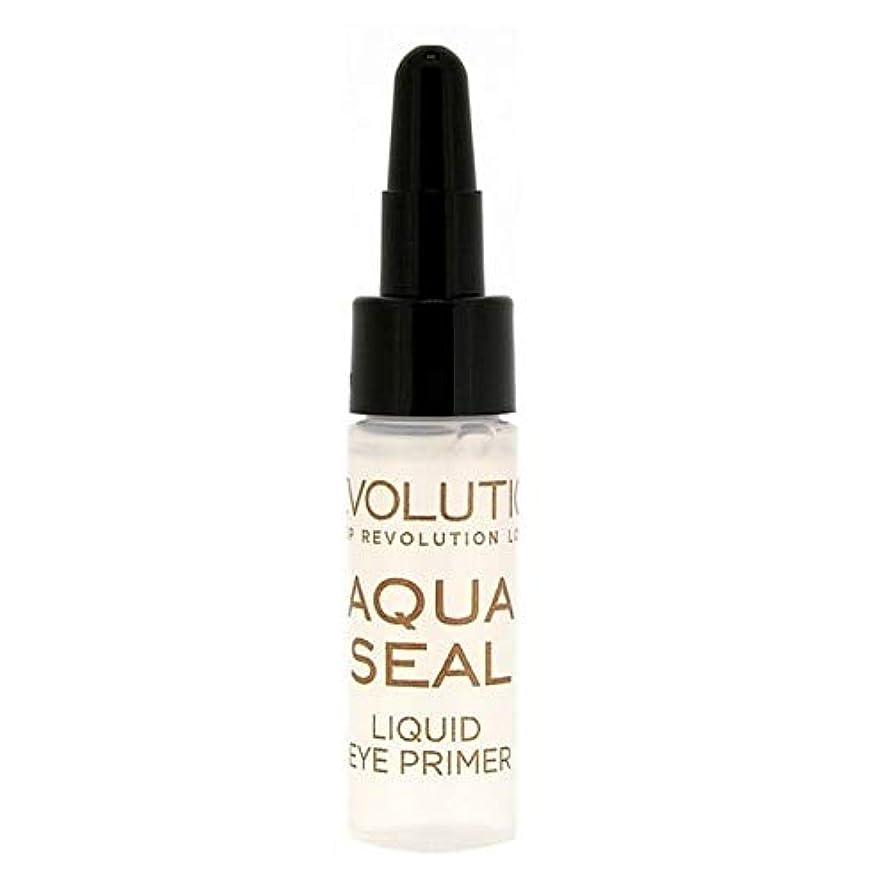 神の心理学ディスコ[Revolution ] 革命液体アクアシールアイシャドウプライマー9グラム - Revolution Liquid Aqua Seal Eyeshadow Primer 9g [並行輸入品]