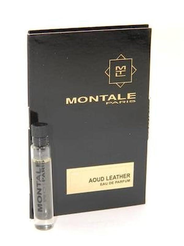 比率六狂信者Montale Aoud Leather EDP Vial Sample 2ml(モンタル ウード レザー オードパルファン 2ml)[海外直送品] [並行輸入品]
