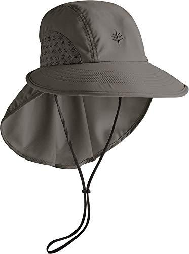 Coolibar UPF 50+ Chapeau de protection solaire pour homme - - M/L