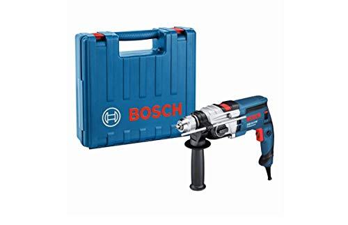 Bosch Professional 060117B570 GSB 19-2 RE 240 V Schlagbohrmaschine, marineblau