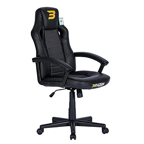 BraZen Salute PC Gaming Chair - Black
