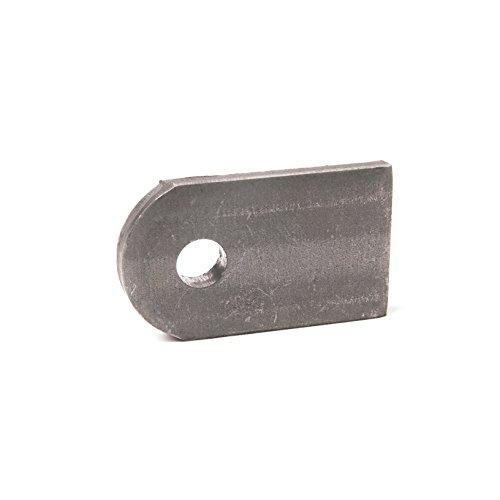Anschweißlasche Stahl 50 x 30 x 6 mm Rundloch Ø 9 mm