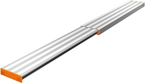 Layher 1351290 Alu-Telesteg ausziehbar auf max. Länge 2.90 m, belastbar bis 150 kg