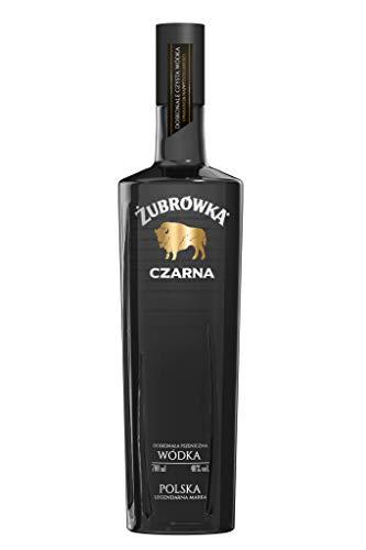 Zubrowka Black/Czarna Wodka (1 x 0.7 l)