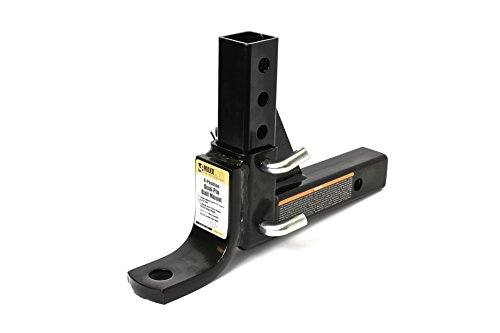 MaxxHaul 70067 8-Position Adjustable Ball Mount - 5000 lbs. GTW Capacity