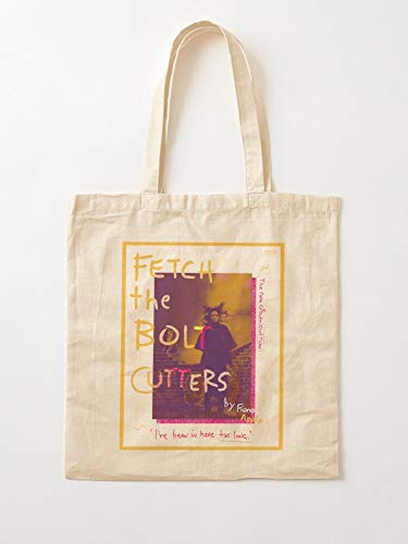 Fiona Graphic Colorful Design Cutters Bolt Álbum The Fetch | Bolsas de lona con asas de algodón duradero