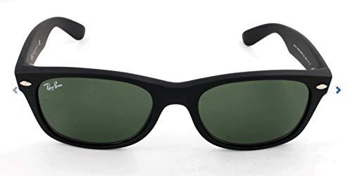 Ray-Ban New Wayfarer, Occhiali da sole, unisex ,Nero, 52 mm
