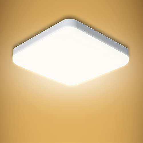 lampadario camera da letto 3000k Yafido Plafoniera LED Soffitto 30W