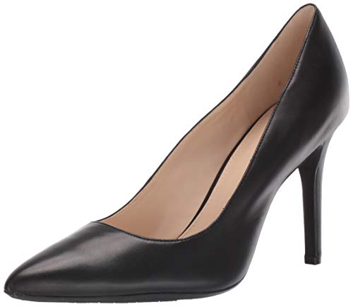 Nine West womens SLIP ON PUMP, Black, 8.5 M US