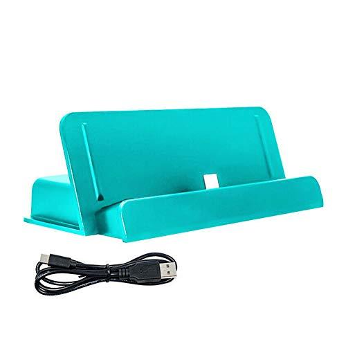 Mworld2 - Base de carga portátil para Switch Lite, Mini soporte de carga para Switch Lite, USB tipo C, soporte estable de sobremesa...