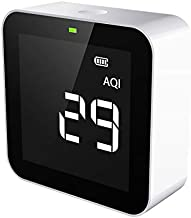 Temtop M10 Air Quality Monitor for PM2.5 HCHO TVOC AQI Professional Electrochemical Sensor Detector Real Time Display Rechargeable Battery