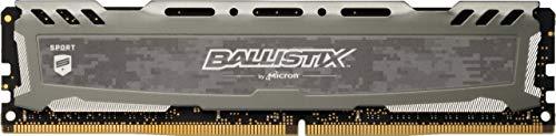 Crucial Ballistix Sport LT 3200 MHz DDR4 DRAM Desktop Gaming Memory Single 16GB CL16 BLS16G4D32AESB (Gray)