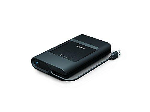 Sony PSZ-HC1T//C Externe Festplatte (1 TB, USB 3.0 und USB C Anschluss) Schwarz schwarz 2TB