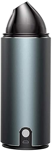 DHTOMC Aspirador de coche portátil de mano potente recargable inalámbrico Partes de mano con motor ciclónico de 120 W para casa coche mascota limpieza del pelo