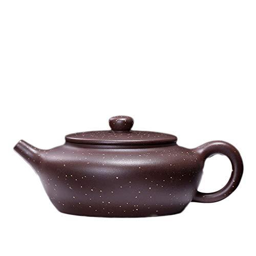 Purple Clay Teapot Ore Sanding Monotonous Okho Tea Sets (Color : Purple mud)