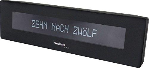 Technoline Digitale Uhr WT 435 mit Uhrzeitanzeige in Worten
