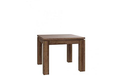 Furniture24 Tisch Küchentisch Esszimmertisch Esstisch ausziehbar 90-180 cm (Schlammeiche)