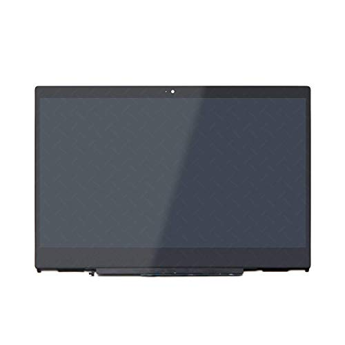LCDOLED Replacement for HP Pavilion x360 14m-cd0000 14-cd0011nr 14m-cd0001dx 14m-cd0003dx 14m-cd0005dx 14m-cd0006dx 14 inches IPS FHD LCD Touch Screen Assembly Bezel with Board (1920x1080 Resolution)