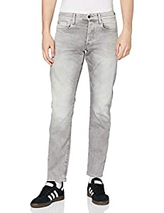 G-STAR RAW Herren Jeans 3301 Straight Tapered, Lt Aged 7607-424, 34W / 36L