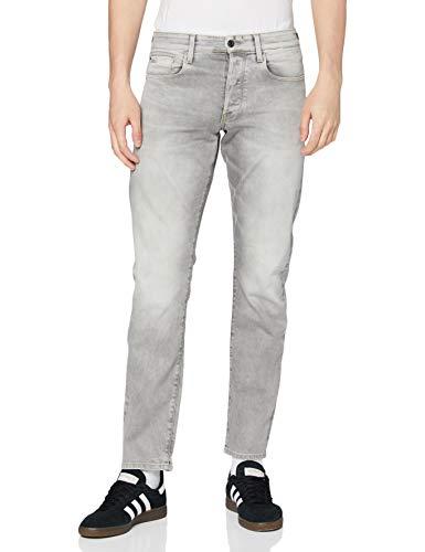 G-STAR RAW Herren Jeans 3301 Straight Tapered, Lt Aged 7607-424, 29W / 32L