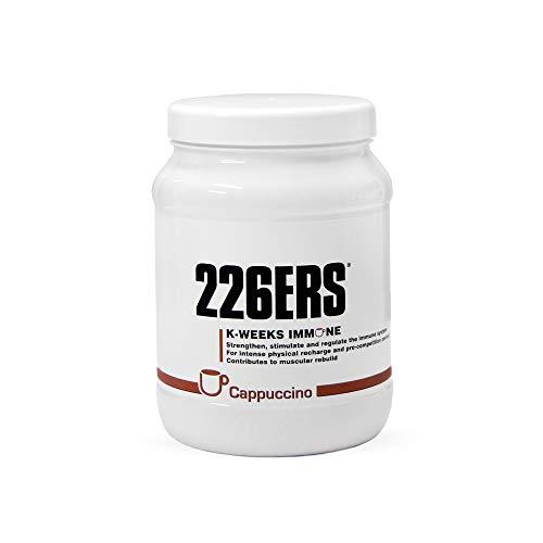 226ERS K-Weeks Immune, Fortalece el Sistema Inmune con Proteína Whey Aislada, Megaflora 9 EVO, Jalea Real y Vitamina B6, Capuccino - 500 gr