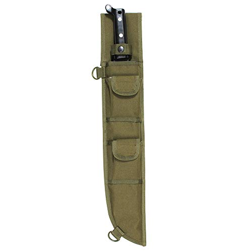 Rothco 18 Inch MOLLE Compatible Machete Sheath, Olive Drab