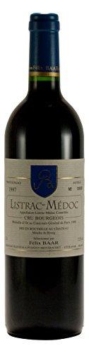 Listrac-Médoc Cru Burgeois AOC 1997 - Preisgekrönter französischer Jahrgangswein Rot-wein mit Goldmedaille aus Bordeaux, Frankreich, Cabernet Sauvignon, Merlot