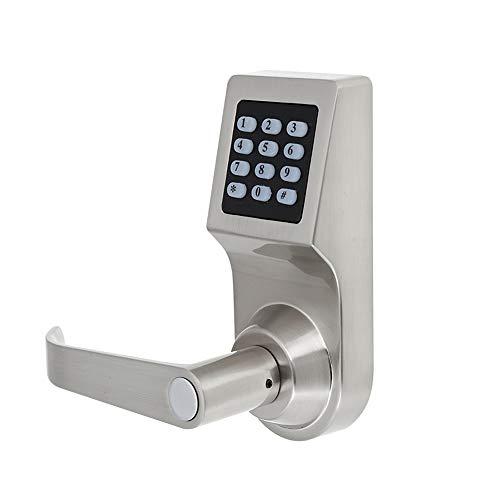 Digitales Türschloss, Elektronisches 3-in-1-Türschloss mit Passwort + RF-Karte + Schlüssel, Elektronisches Smart Code-Schloss, für Office Home