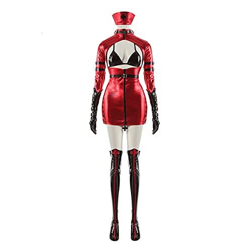 Xin Hai Yuan Kurumi Tokisaki Cosplay Disfraces Date A Live Cosplay Disfraces enfermera Uniforme vestido de mujer conjunto completo Halloween, L/XL