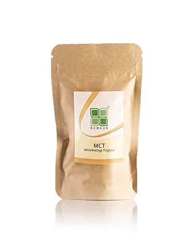 MCT Öl Pulver 400g - Mittelkettige Triglyceride aus deutscher Herstellung geeignet für Bulletproof Coffee - Kokos Öl Pulver - ketogene Diät - optimierter Energiestoffwechsel
