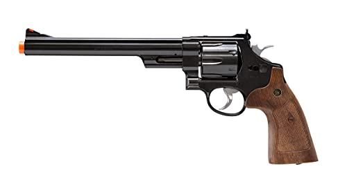 Smith & Wesson M29 Revolver 6mm BB Pistol Airsoft Gun, 8 3/8 Inch