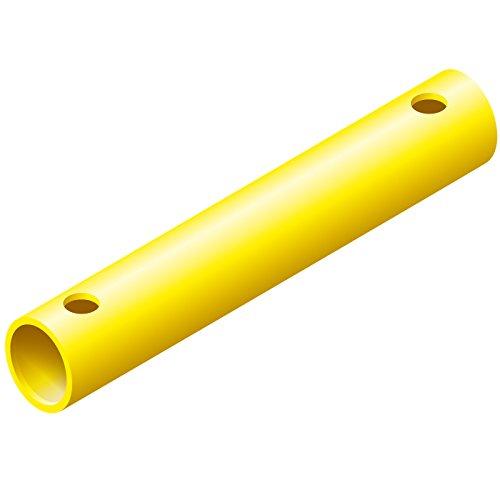 Quadro Rohr 35 cm gelb