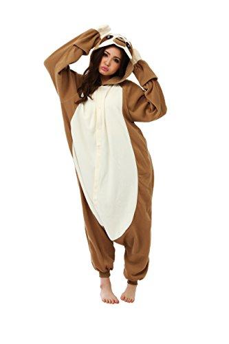 Kigurumi Pyjama Paresseux Marque Originale SAZAC (100% Qualite Japonaise) - Adultes (1m50 a 1m80)