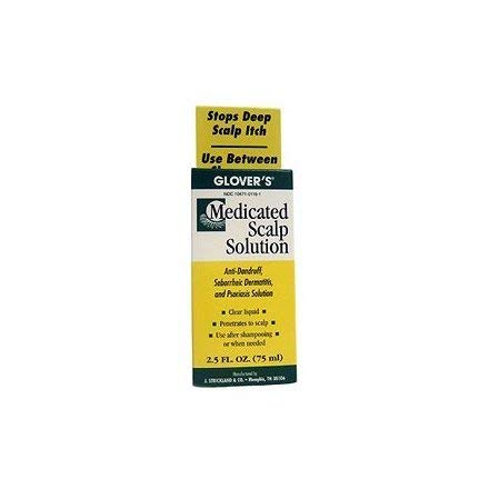 GLOVER'S Medicated Scalp Solution 2.5 oz