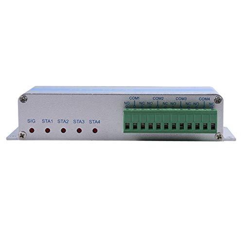 Maravilloso Control Remoto inalámbrico, Sistema de Seguridad para el hogar con Control de Llamadas gsm SMS Cl4-Gsm con pequeño Receptor para controlar el Equipo por Adelantado(European regulations)