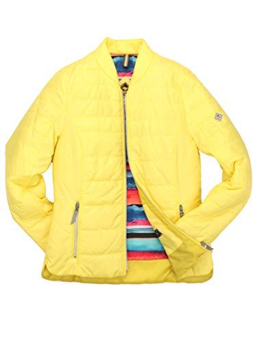 ROADSIGN Australia - Damen Steppjacke (3023-9302N3023), Größe:38, Farbe:Gelb (51)