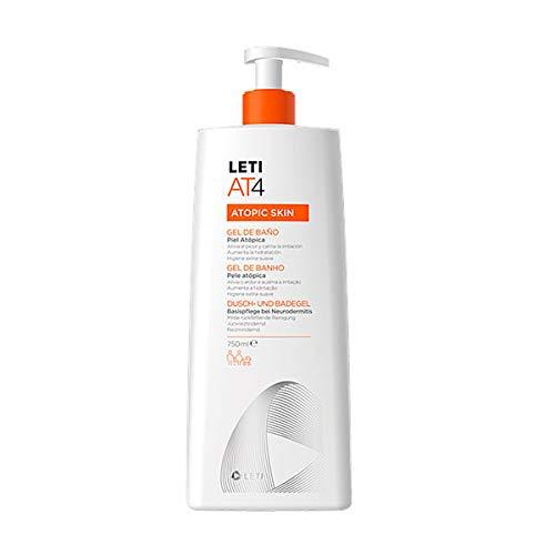 Leti AT-4 Atopic Skin Gel de Baño Piel Atópica, 750ml PRECIO ESPECIAL
