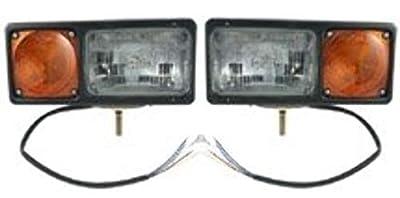 Grote 64261-4 Snow Plow Lamps, PK2, Yellow