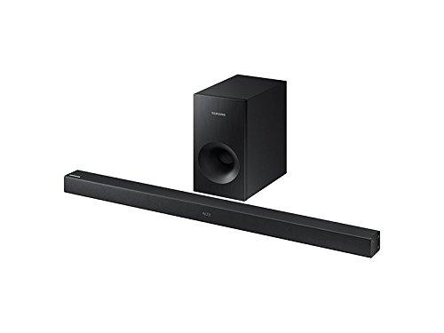 Samsung HW-K360 / HW-KM36 2.1 Channel 130 Watt Wireless Audio Soundbar with Wireless Soundbar (Renewed)