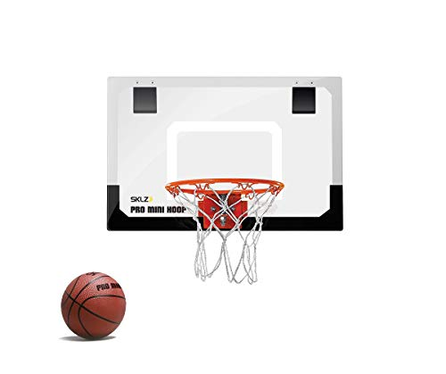 Sklz Sporting Good's Grade Backboard and Break-Away Steel Rim Pro Mini Hoop...