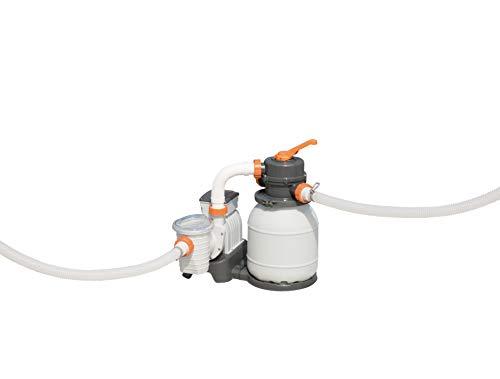 Bestway 58495 Filtre à Sable Flowclear, Blanc