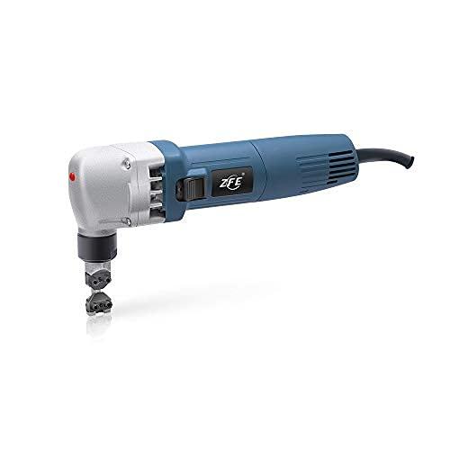 ZFE knabber Blechknabber 0.5mm-2.0mm elektrische Nibbler blechschere knabber Cutter 380W, Blechnibbler elektrisch Nibbler mit Hochgeschwindigkeitsrotor