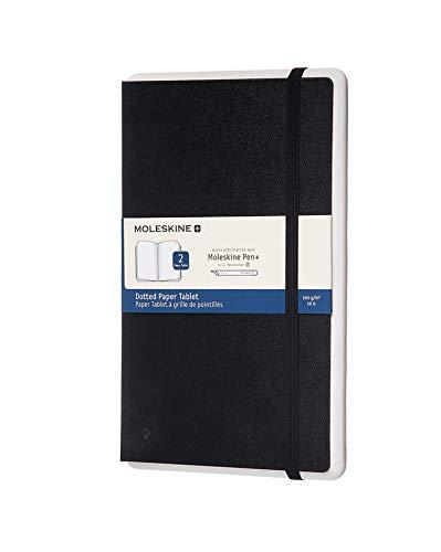 Moleskine Paper Tablet Dotted Zwart Large (13X21 cm) Hard 2