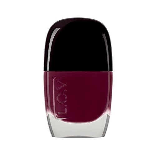 L.O.V Make-up Nägel Lovinity Long Lasting Nail Lacquer Nr. 220 Passionate Plum 11 ml