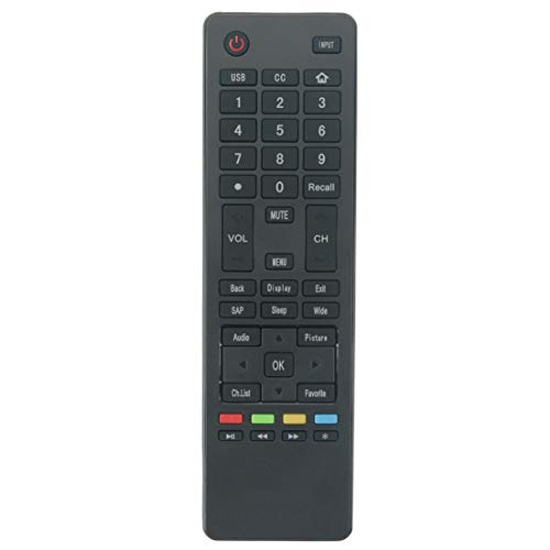 NKF New Remote Control for Haier 4K Ultra HD Slim TV 65UGX3500 75UGX3550 55UGX3500