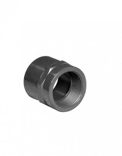 PVC-Gewindemuffe, Klebemuffe x IG, 50 mm x 1 1/2