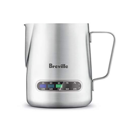 Breville The Temp Control Milk Jug Temperature Control Jug, Silver, BES003